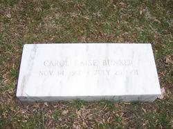 Caroline Clendening <i>Laise</i> Bunker
