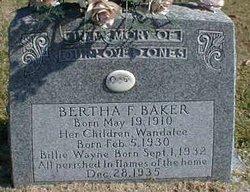 Bertha Faye <i>Ladd</i> Baker