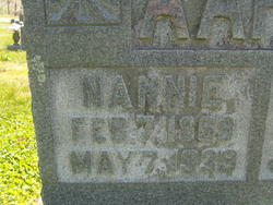 Nancy Nannie <i>King</i> Aaron