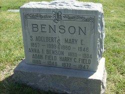Mary Elizabeth <i>Ridley</i> Benson