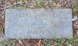 Phenia Phenie <i>Richards</i> Irvine