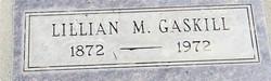Lillian May <i>Carson</i> Gaskill