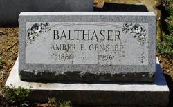 Amber E <i>Gensler</i> Balthaser