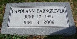 Carolann <i>Bodeman</i> Barngrover
