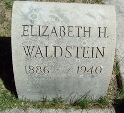 Elizabeth <i>Greenstein</i> Waldstein