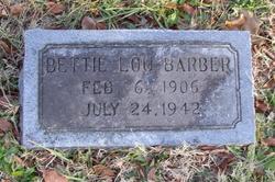 Bettie Lou Barber