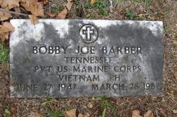 Bobby Joe Barber