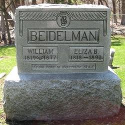 Eliza <i>Butz</i> Beidelman