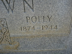 Mary Polly <i>Whaley</i> Brown