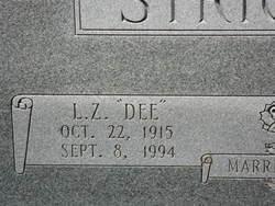 L Z (Dee) Strickland