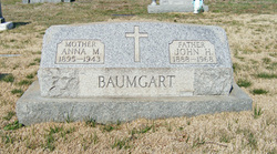 Anna M. <i>Horney</i> Baumgart