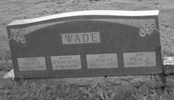 Jennie <i>Burns</i> Wade