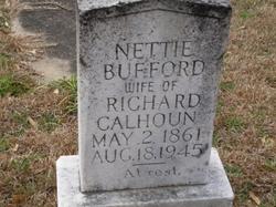 Nettie <i>Bufford</i> Calhoun