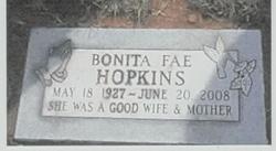 Bonita Fae <i>Ruyle</i> Hopkins