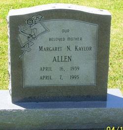 Margaret N. <i>Kaylor</i> Allen