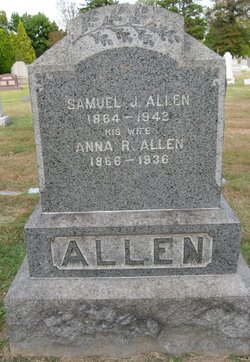 Anna R. <i>Cubberly</i> Allen