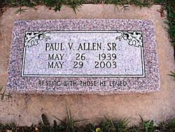 Paul V Allen, Sr