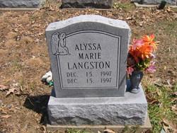 Alyssa Marie Langston