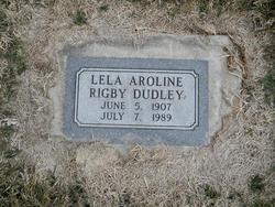 Lela Aroline <i>Rigby</i> Dudley