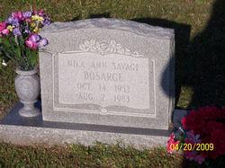Nila Ann <i>Savage</i> Bosarge