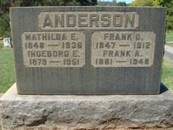 Ingeborg E <i>Meyer</i> Anderson