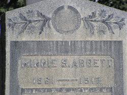Minnie S Abbett