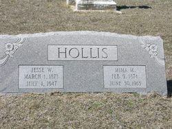 Mary Jemima Mima <i>Marley</i> Hollis
