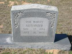 Osceola <i>Marley</i> Alexander
