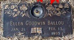 Virginia Ellen <i>Goodwin</i> Ballou