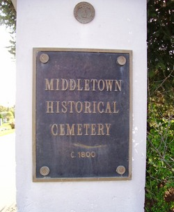 Middletown Historical Cemetery