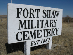 Fort Shaw Military Cemetery