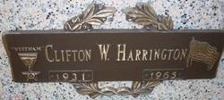 Sgt Clifton William Cliff Harrington