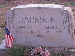 Sarah Jane <i>Thomas</i> Jackson