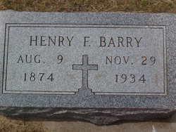 Henry Frederick Barry