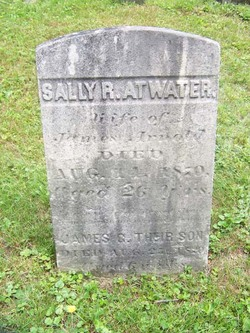 Sally R <i>Atwater</i> Arnold