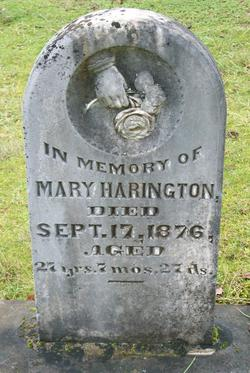 Mary <i>Woodward</i> Harrington