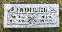 Orie N Harrington
