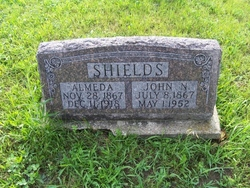 Almeda Christina Aley <i>Lathrop</i> Shields
