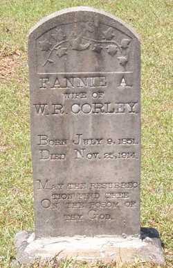 Fannie A Corley