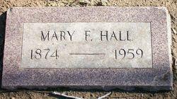 Mary Frances <i>Talkington</i> Hall
