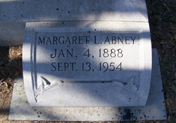 Margaret <i>Lyles</i> Abney