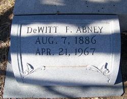 DeWitt Fleetwood Abney