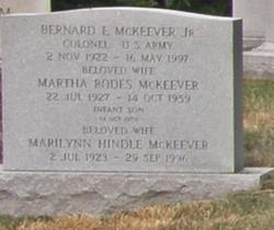 Martha <i>Rodes</i> McKeever