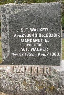 Margaret Emily <i>Baker</i> Walker