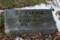 Valerie <i>Jourdan</i> Bramlette