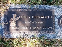 Elsie V Duckworth