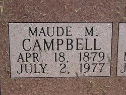 Mary 'Maude' Mitchell <i>Wheeler</i> Campbell