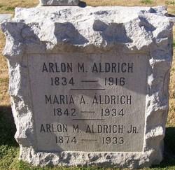 Maria A. <i>Niles</i> Aldrich