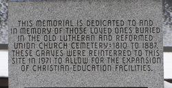Boyertown Union Church Cemetery