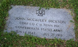 John M Dickson